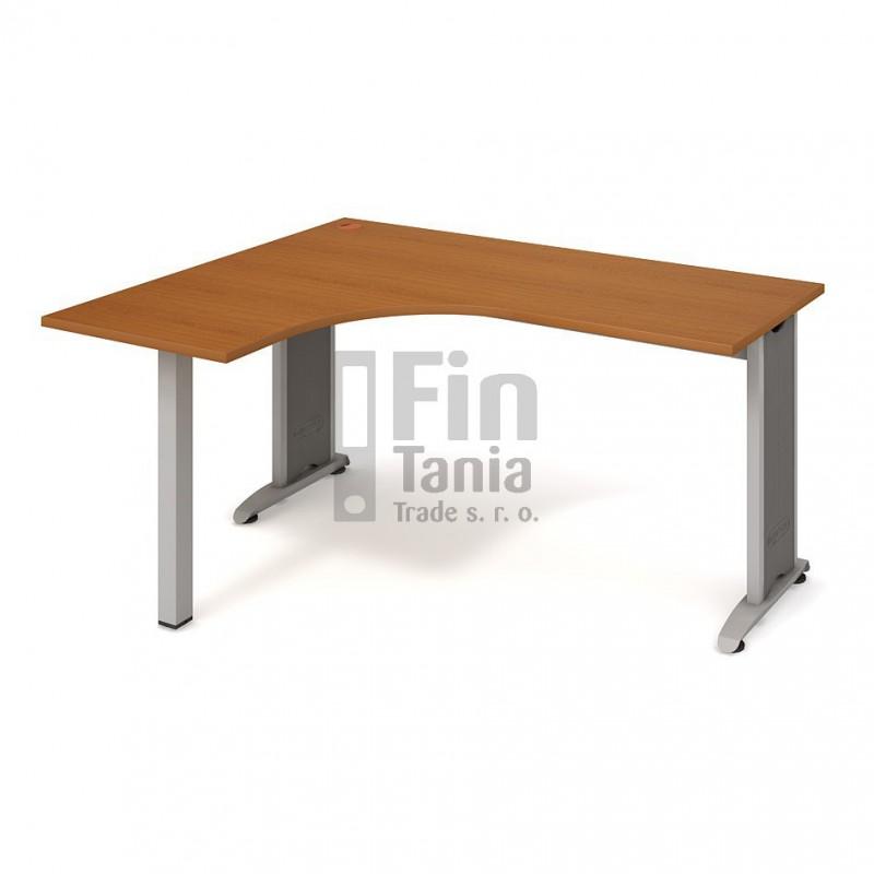 Psací stůl Hobis Flex FE 60 pravý - 160 x 120, Typ podnože RM 200 Office Pro 099091000 Psací stoly