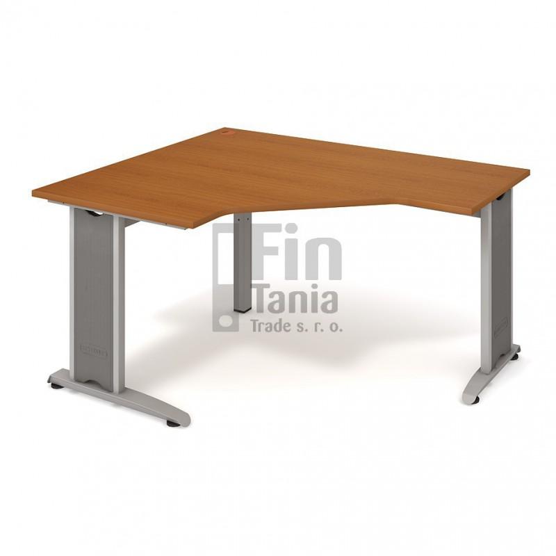 Psací stůl Hobis Flex FEV 80 pravý - 160 x 120, Typ podnože RM 200 Office Pro 099098000 Psací stoly