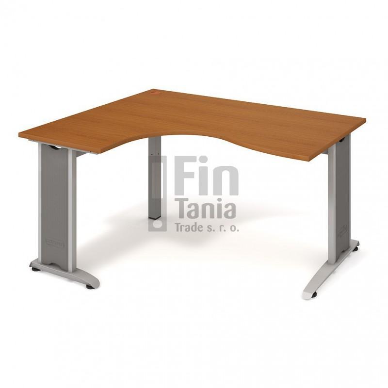 Psací stůl Hobis Flex FE 2005 pravý - 160 x 120, Typ podnože RM 200 Office Pro 099102000 Psací stoly