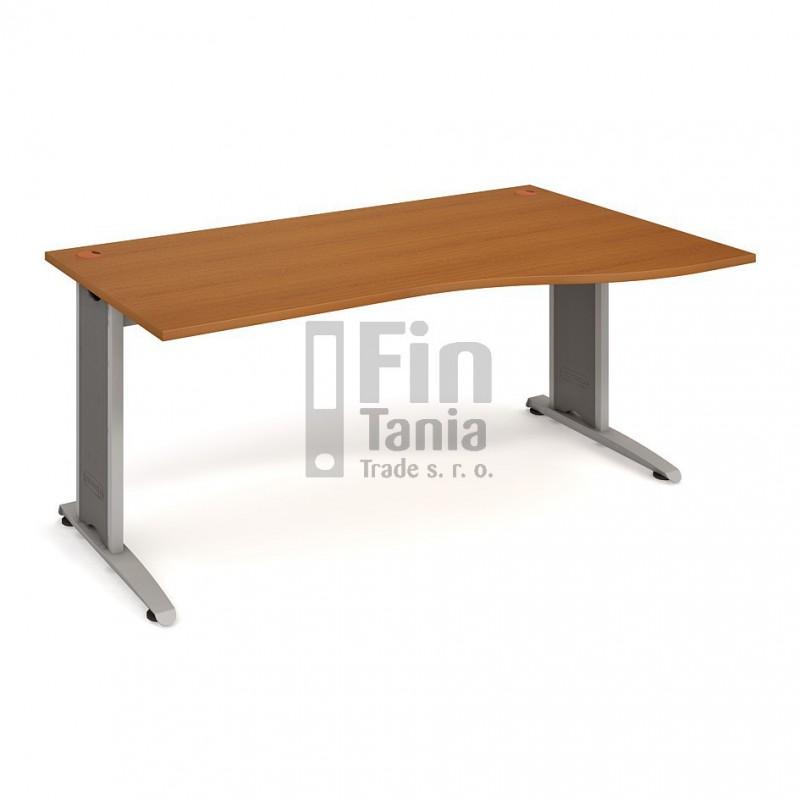 Psací stůl Hobis Flex FE 1000 levý - 180 x 100, Typ podnože RM 200 Office Pro 099104000 Psací stoly
