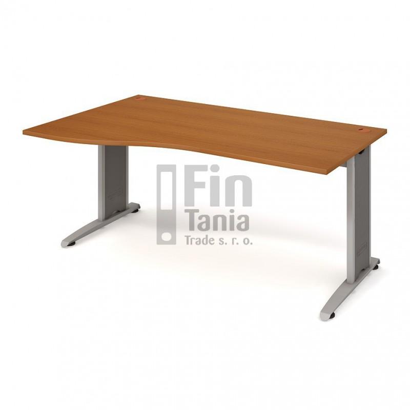 Psací stůl Hobis Flex FE 1000 pravý - 180 x 100, Typ podnože RM 200 Office Pro 099106000 Psací stoly