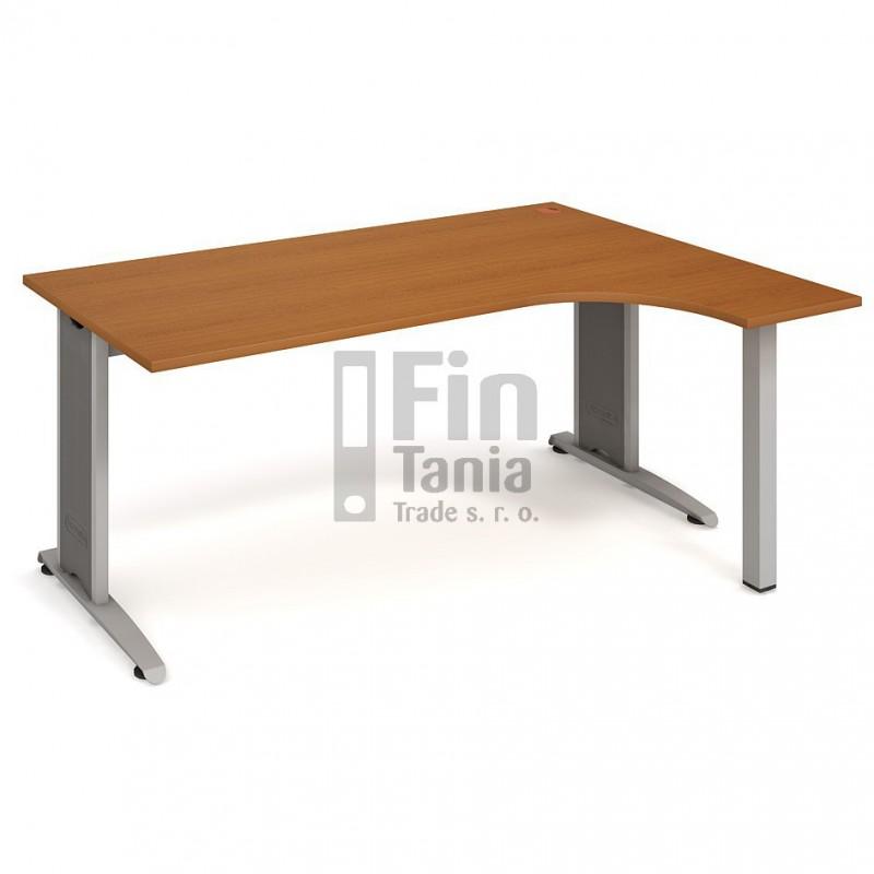 Psací stůl Hobis Flex FE 1800 levý - 180 x 120, Typ podnože RM 200 Office Pro 099108000 Psací stoly