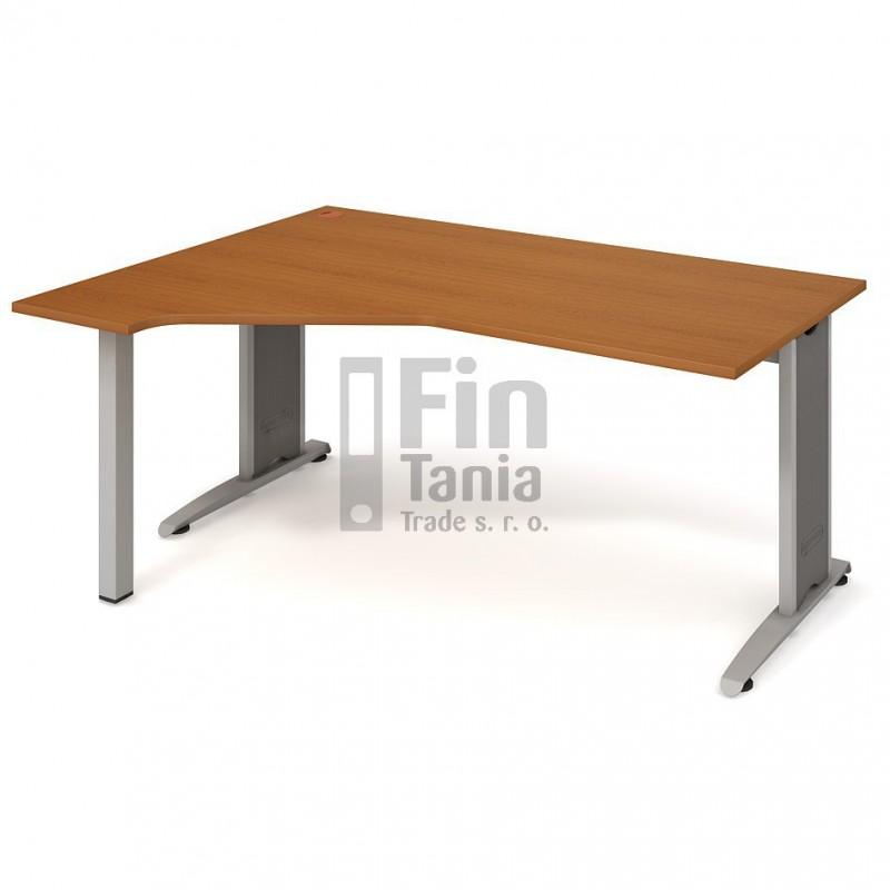 Psací stůl Hobis Flex FEV 1800 pravý - 180 x 120, Typ podnože RM 200 Office Pro 099114000 Psací stoly