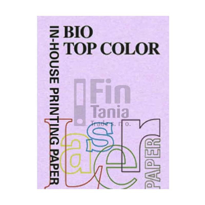 Kancelářský papír barevný BIOTOP COLOR, A4/80g, fialová, č.LA34 !DOPRODEJ! 010106400