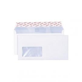 Obálky ELCO-DL se samolepicí páskou s oknem « vlevo/ 500 ks