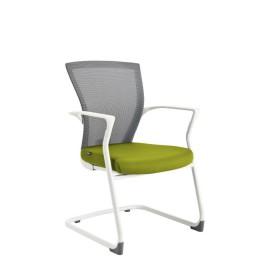 Konferenční židle MERENS WHITE MEETING Office Pro