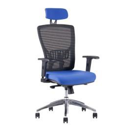židle OfficePro HALIA Mesh Chrom SP