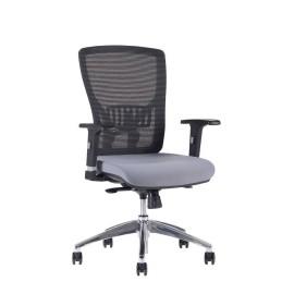 Kancelářská židle HALIA Mesh Chrom BP, bez podhlavníku, 3 barvy sedáku