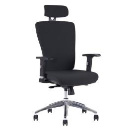 Kancelářská židle HALIA Chrom SP, s podhlavníkem, 3 barvy židle
