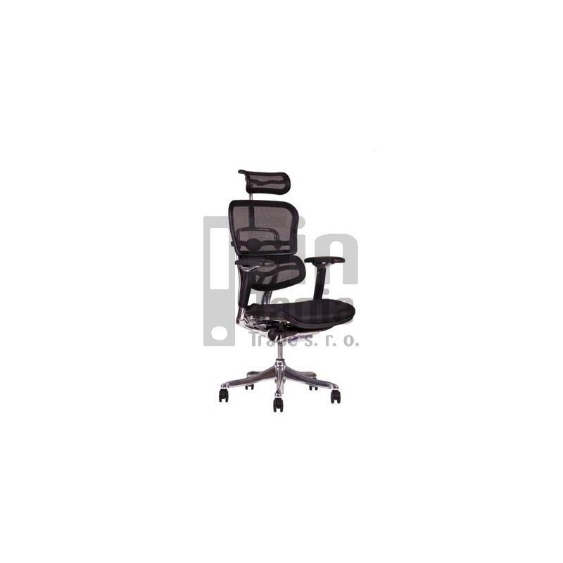 kancelářské křeslo SIRIUS Q 24 - doprava zdarma, Látka MESH černá, Sedák MESH černá Office Pro 073302200 Kancelářské židle a křesla