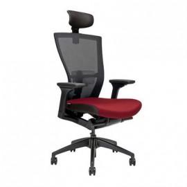 Kancelářská židle MERENS SP s podhlavníkem, 5 barev sedáku