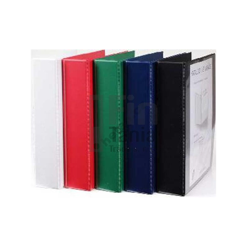 Pořadač - šanon 4-kroužkový, A4, 6cm PERSONAL modrý 020109100