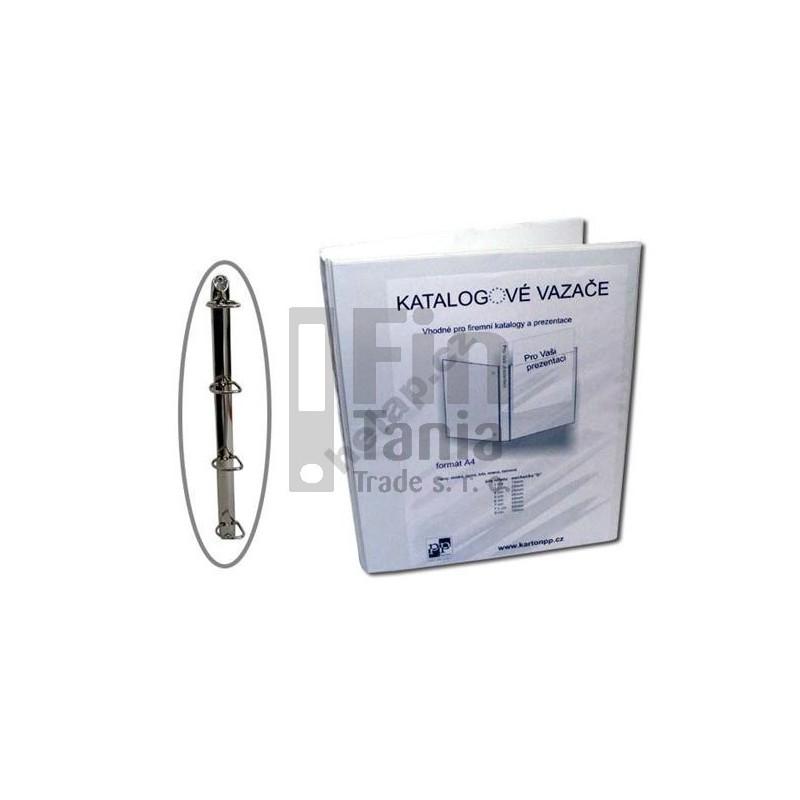 Pořadač - šanon 4-kroužkový, A4, 7cm PERSONAL bílý 020109400
