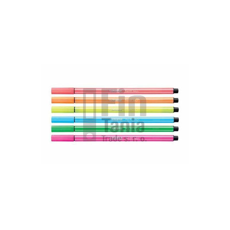 Popisovač STABILO Pen 68, 6 barev 030102700