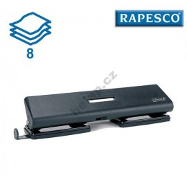 Děrovačka Rapesco 55-P, 4 děrová, 8 listů