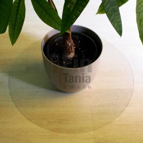 Podložka na podlahu, kruh 60 cm, polykarbonát