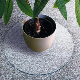 Podložka na koberec, kruh 60 cm, polykarbonát