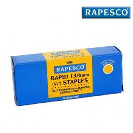 Drátky Rapesco do sešívaček, 13/6mm, 5000ks