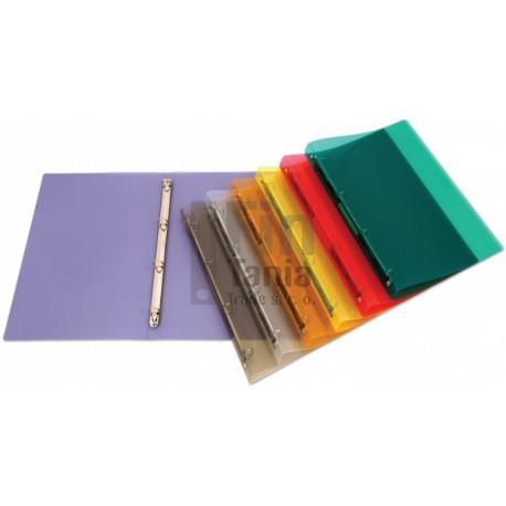 Desky TIM A4 4-kroužková mechanika, (6 barev)