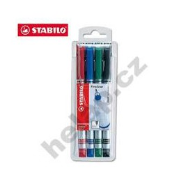 Popisovač Stabilo sensor 189/4 barvy