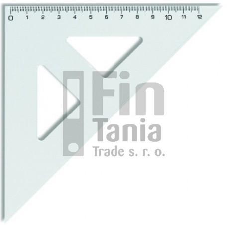 Trojúhelník 45°/141 transparentní