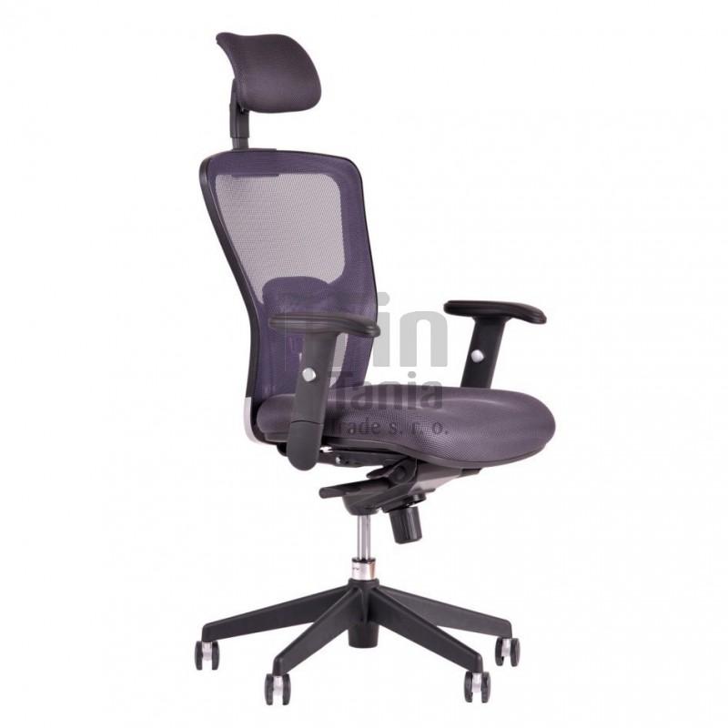 Kancelářská židle DIKE SP s podhlavníkem, Látka DK 13 červená Office Pro 073300615 Kancelářské židle a křesla