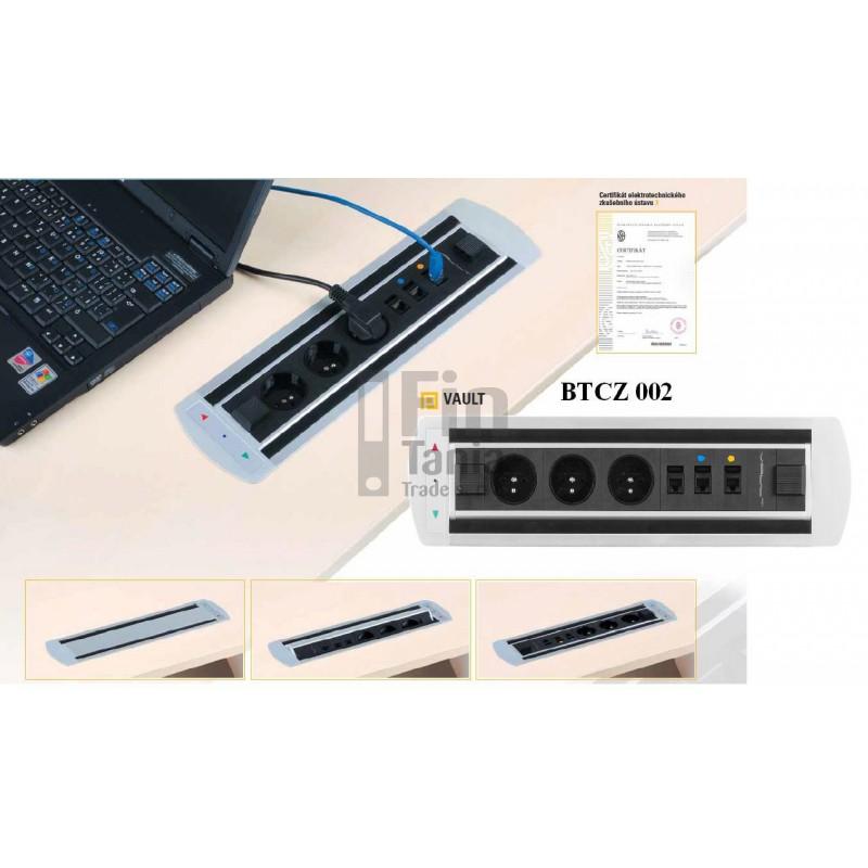 VAULT BTCZ 002 zásuvkový panel Office Pro 054000600 VAULT BTCZ 002