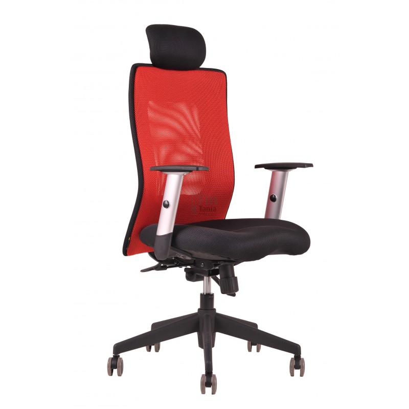 Kancelářská židle CALYPSO XL, SP4, 7 barev, Látka 14A11 modrá, Sedák černý Office Pro 0733065XX Kancelářské židle a křesla