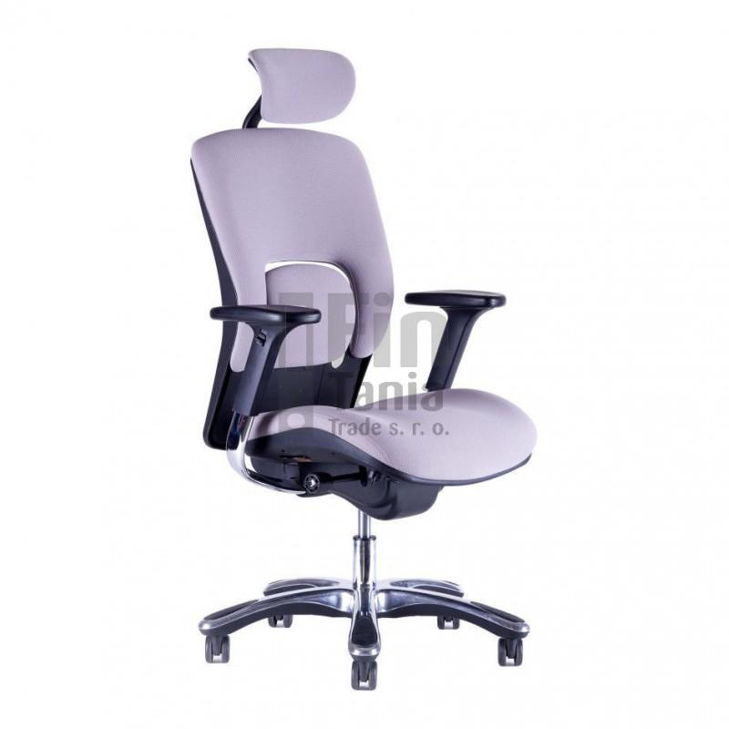 Kancelářské křeslo VAPOR, látka, Látka A24335 oranžová Office Pro 073306606 Kancelářské židle a křesla