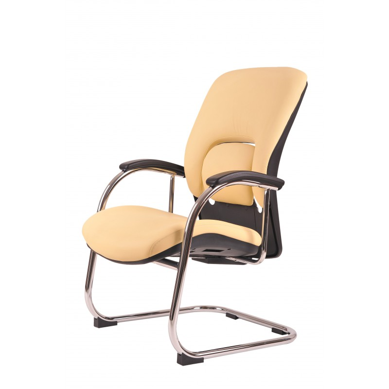 konferenční židle Vapor Meeting, kůže, Kůže L001 černá Office Pro 073307802 jednací židle