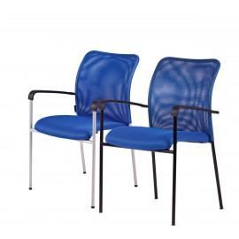 jednací židle TRITON BLACK (4 barvy)