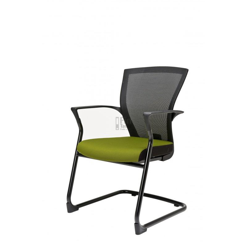 Jednací židle MERENS Meeting, Látka BI 201 černá Office Pro 073403502 Jednací židle