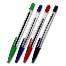 Pero kuličkové - propiska jednorázová BP 943 (4 barvy)