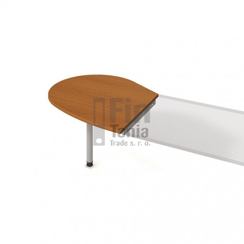 Psací stůl Hobis Gate GP 20 L, Barva nohou celobarva, Barva stolové desky Akát Office Pro 098003198 Psací stoly