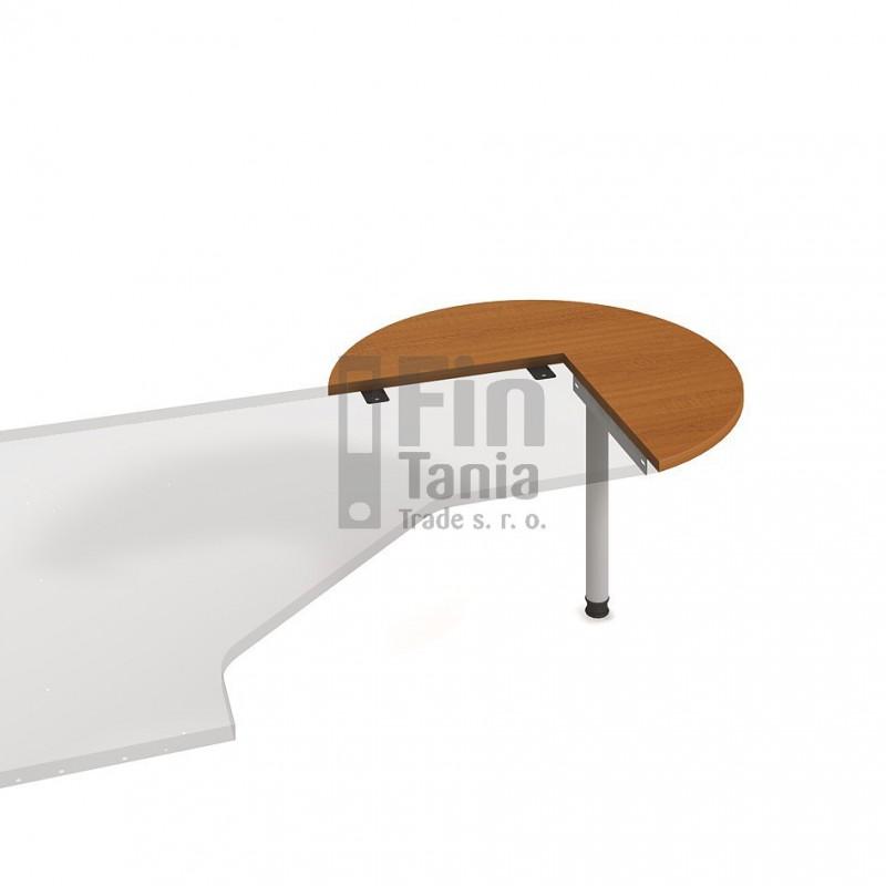 Psací stůl Hobis Gate GP 21 P, Barva nohou celobarva, Barva stolové desky Akát Office Pro 098003499 Psací stoly
