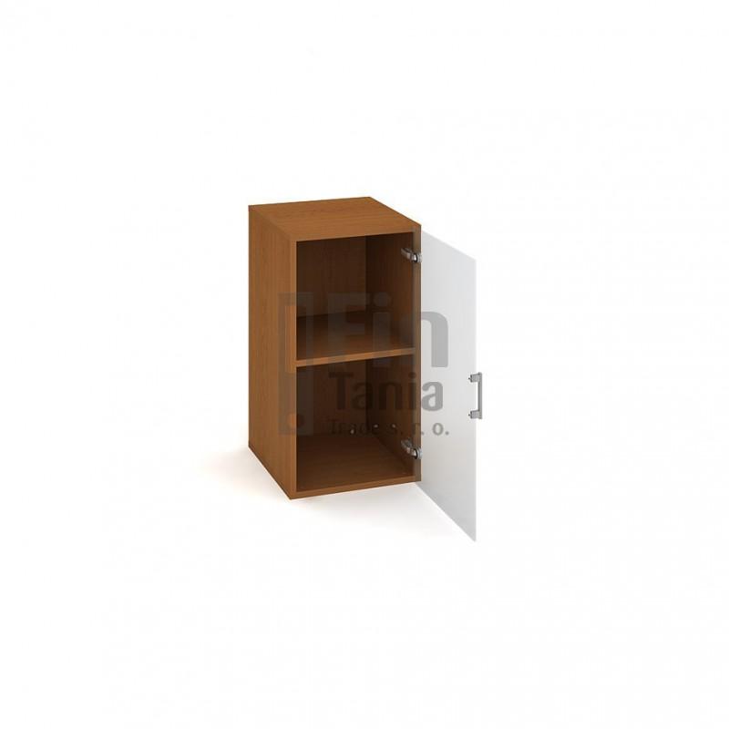 Skříň Hobis Drive D 2 40 02 - 40 x 42, Barva korpusu Ořech Office Pro 099007500 Policové skříně