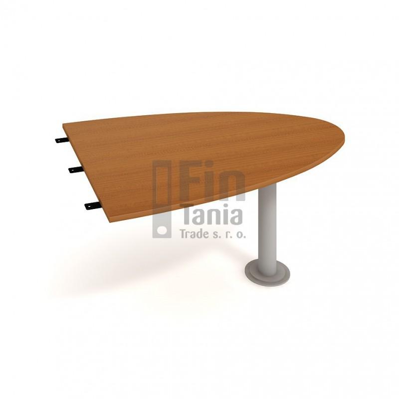 Stůl Hobis Gate GP 1500 2 - 150 x 110, Barva nohou celobarva, Barva stolové desky Akát Office Pro 099017600 Psací stoly