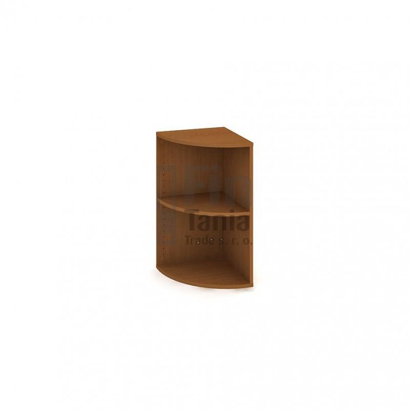 Skříň Hobis Drive DR 2 L - 40 x 40, Barva korpusu Ořech Office Pro 099019300 Policové skříně