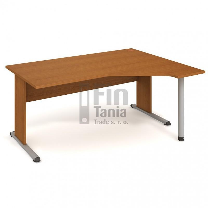 Psací stůl Hobis Proxy PEV 1800 levý - 180 x 120, Barva podnože černá Office Pro 099060800 Psací stoly