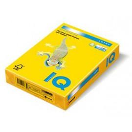 Kancelářský papír barevný IQ color, A4/160g, intenzivní žlutá, č.IG50 !DOPRODEJ!