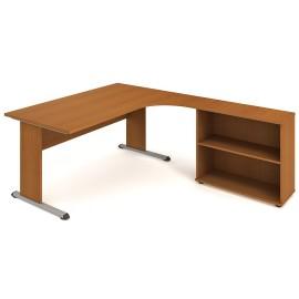 Psací stůl Hobis Proxy PE 1800 H levý - 180 x 200