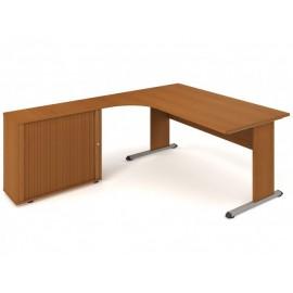 Psací stůl Hobis Proxy PEV 1800 HR pravý- 180 x 200