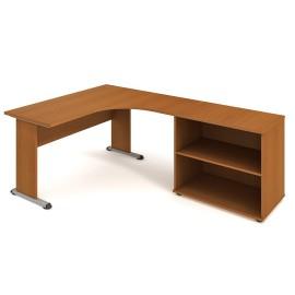 Psací stůl Hobis Proxy PE 60 H levý - 160 x 200
