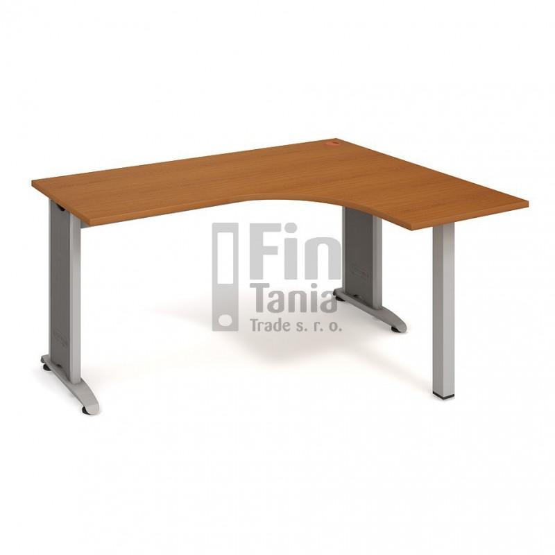 Psací stůl Hobis Flex FE 60 levý - 160 x 120, Typ podnože RM 200 Office Pro 099088000 Psací stoly