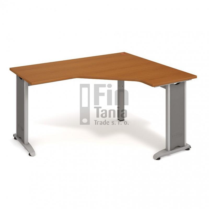 Psací stůl Hobis Flex FEV 60 levý - 160 x 120, Typ podnože RM 200 Office Pro 099092000 Psací stoly
