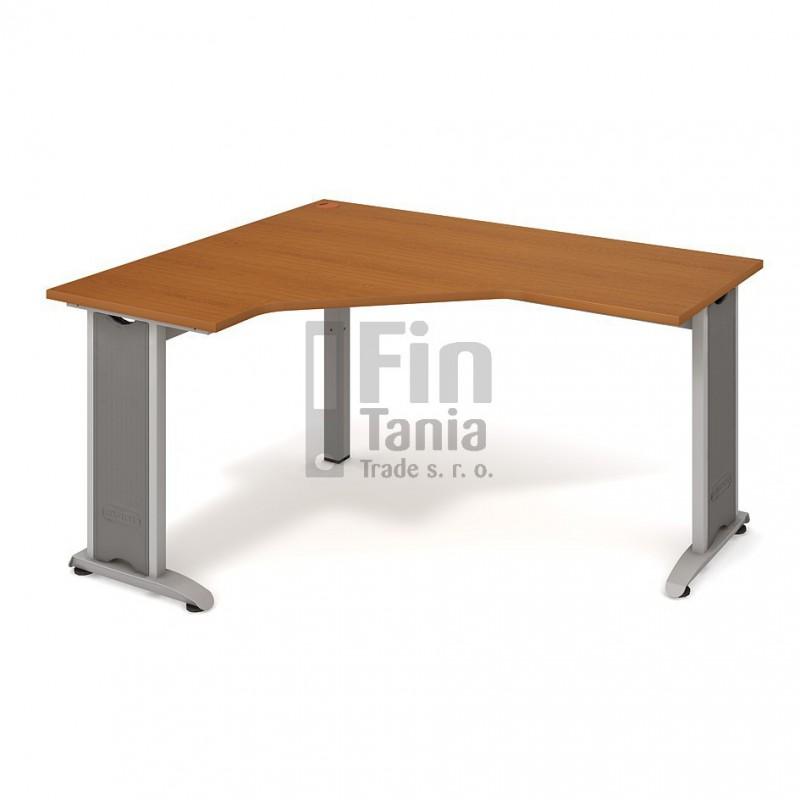 Psací stůl Hobis Flex FEV 60 pravý - 160 x 120, Typ podnože RM 200 Office Pro 099094000 Psací stoly