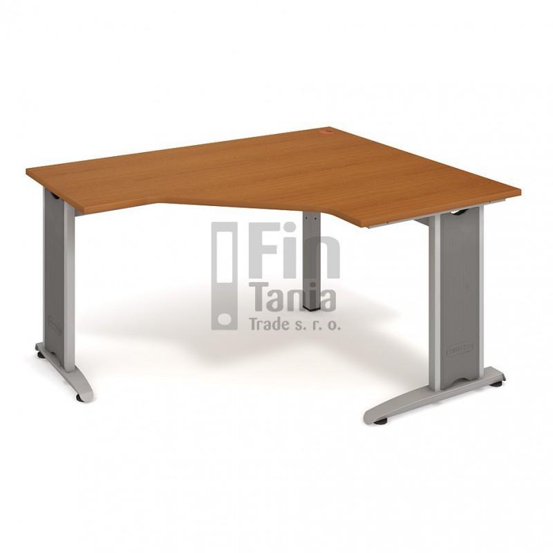 Psací stůl Hobis Flex FEV 80 levý - 160 x 120, Typ podnože RM 200 Office Pro 099096000 Psací stoly