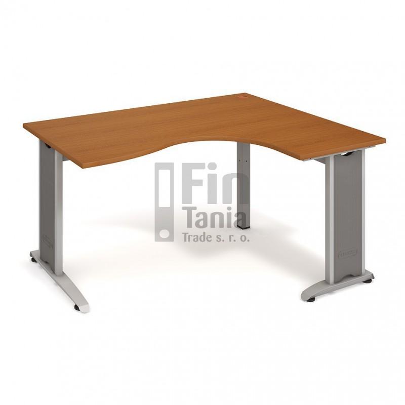 Psací stůl Hobis Flex FE 2005 levý - 160 x 120, Typ podnože RM 200 Office Pro 099100100 Psací stoly