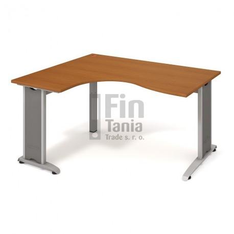 Psací stůl Hobis Flex FE 2005 pravý - 160 x 120