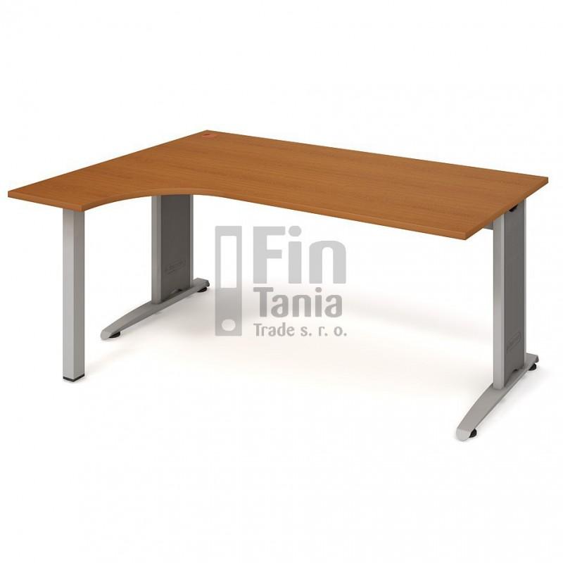 Psací stůl Hobis Flex FE 1800 pravý - 180 x 120, Typ podnože RM 200 Office Pro 099110000 Psací stoly